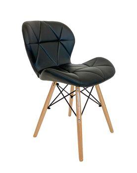 cumpără Tornado wood DC-ARA020 - scaun, negru în Chișinău