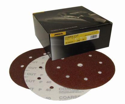 cumpără Disc de slefuire Mirka COARSE CUT P40, 150mm, 7H 4062805040 , 100 buc./ cut. în Chișinău