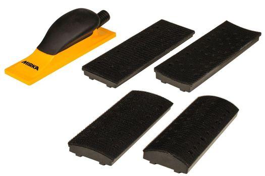 купить Комплект ручного шлифовального блока Premium 70x198мм 40 отв. в Кишинёве