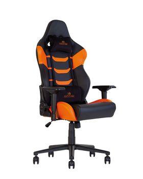 купить Кресло HEXTER RC R4D Tilt MB70 ECO/02 (черный/оранжевый) в Кишинёве