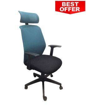 cumpără Spider 770S HB - scaun oficiu, blue/negru în Chișinău
