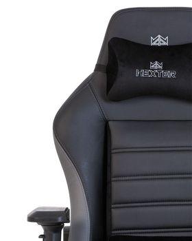 купить Кресло Hexter XL R4D MPD MB70 Eco/01 (negru/sur) в Кишинёве