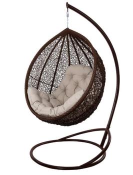 купить Кресло-кокон Vesta LUX коричневый в Кишинёве