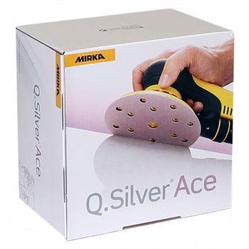 купить Шлифовальный круг Mirka  Q.Silver  ACE P120, 150mm, 15H 3261109912 100 шт/уп в Кишинёве