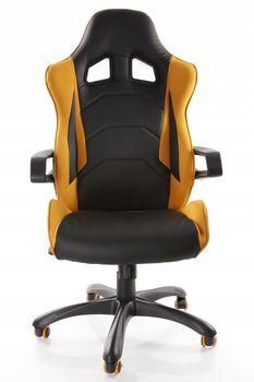купить Кресло MUSTANG (черный/оранжевый) в Кишинёве