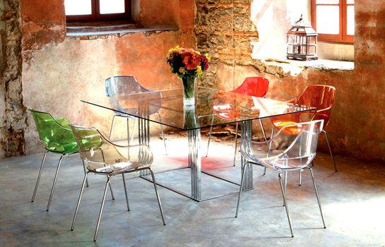 купить Кресло Opal wox (красный матовый) в Кишинёве