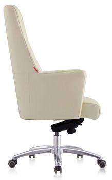 купить Кресло 9167 Italy C28 (натур.кожа/беж) в Кишинёве