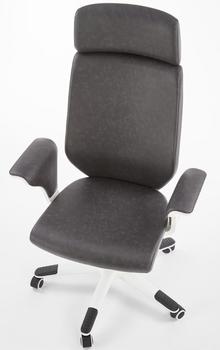 купить Кресло LONATTI (белый/черный) в Кишинёве