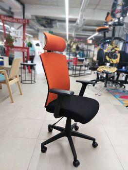 купить Ergo Style 720S HB - scaun oficiu, orange/negru в Кишинёве