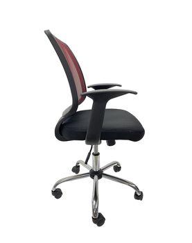 купить Кресло Bit, спина сетка bordo, сиденье сетка черный в Кишинёве