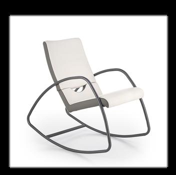купить Кресло-качалка BALANCE (белый/серый) в Кишинёве