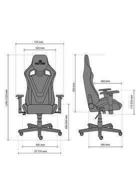 купить Кресло HEXTER PRO R4D Tilt MB70 ECO/02 черный-красный в Кишинёве