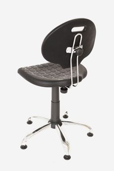 купить Кресло Laborant GTS хром stopki в Кишинёве