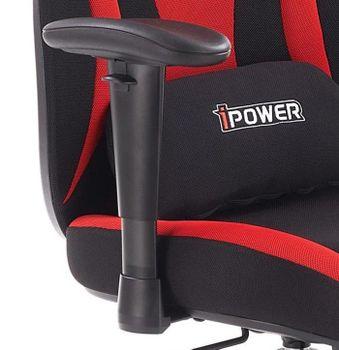 купить Кресло ABART (чёрный/красный) в Кишинёве