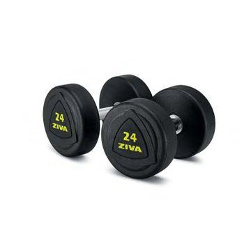 Гантели обрезиненные 10 кг ZIVA