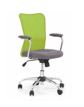 купить Кресло ANDY (серый/лайм) в Кишинёве