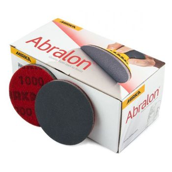 купить Шлифовальный диск на поролоновой основе Mirka  ABRALON 2000, 150mm, 8A24102095 20 шт/уп в Кишинёве