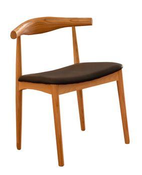 купить Scaun din lemn cu sezut negru, 570x580x590/600x270x280 mm WS-021 в Кишинёве
