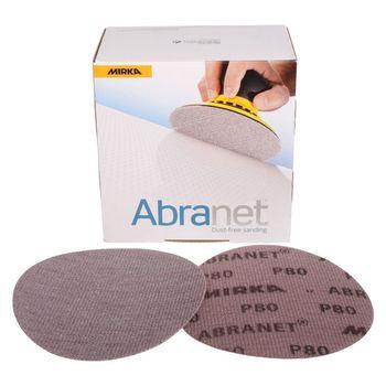 купить Шлифовальный сетчатый диск Mirka ABRANET P80, 150mm 5423205080 50 шт/уп в Кишинёве
