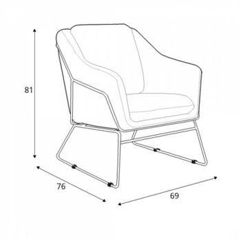 купить Кресло SOFT (серый) в Кишинёве