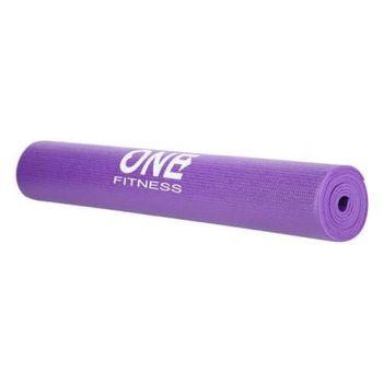 КОВРИК ДЛЯ ЙОГИ YM01 purple ONE FITNESS АРТ.27907