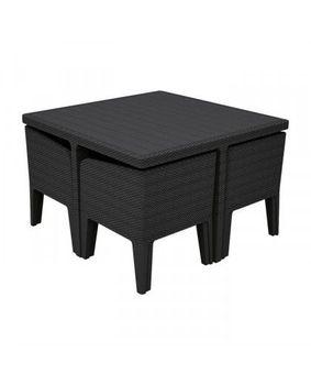 купить COLUMBIA S5  Комплект мебели графит/серый в Кишинёве
