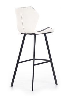 купить Стул H83 (белый/серый) в Кишинёве
