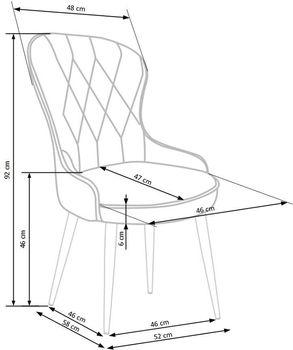 купить Кресло K366 (бордовый) в Кишинёве
