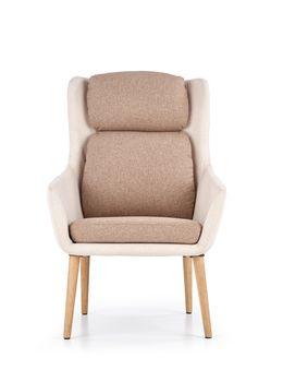 купить Кресло PURIO (беж/коричневый) в Кишинёве