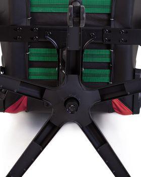 купить Кресло HEXTER PRO R4D Tilt MB70 ECO/01 черный-красный в Кишинёве