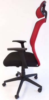 cumpără Spider 770S HB - scaun oficiu, rosu/negru în Chișinău