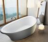 Ванна 180*91*68,5см отдельностоящая, акриловая, с сифоном