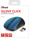 Wireless Mouse Trust Mydo Silent, Blue
