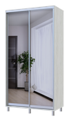 City Lite 2-дверные зеркала заднего вида 2,25 м x 1,2 м x 0,6 м белое дерево 0449