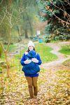 купить NapBag by Bagy Слинго накидка зима\осень синяя в Кишинёве