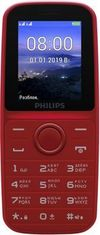 купить Philips E109 Dual Sim,Red в Кишинёве