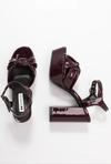 Босоножки EVEN&ODD Темно бордо even&odd sandals