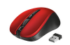 Wireless Mouse Trust Mydo Silent, Red