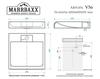 купить Раковины над стиральными машинами V056D1 в Кишинёве