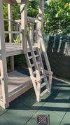 Лестница с поручнями-Модуль к Игровой Площадке