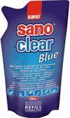 cumpără Sano Clear Blue Solutie pentru curatat geamuri (rezerv) 750 ml. 117275 în Chișinău