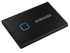 2,0 ТБ (USB3.2 / Type-C) Samsung Portable SSD T7 Touch, FP ID, черный (85x57x8 мм, 58 г, R / W: 1050 МБ / с)