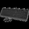купить Клавиатура A4Tech F1010 Kit Black/Grey в Кишинёве