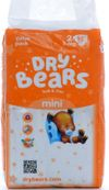 купить Dry Bears Soft&Thin 2 Mini (3-6 кг) 52 шт. в Кишинёве