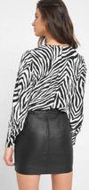 Блуза ORSAY Белый/черный 663500 orsay