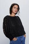 Блуза ZARA Чёрный 7969/022/800