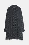 Платье ZARA Чёрный в горошек 2731/274/800