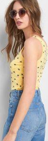 Майка ORSAY Желтый с принтом 110036