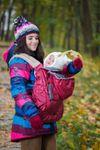 купить NapBag by Bagy Слинго накидка зима\осень Bordo в Кишинёве