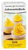 купить BRAUNS-HEITMANN Пищевой краситель желтый, 2 x 4г в Кишинёве